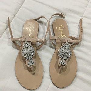 Jessica Simpson studded sandals